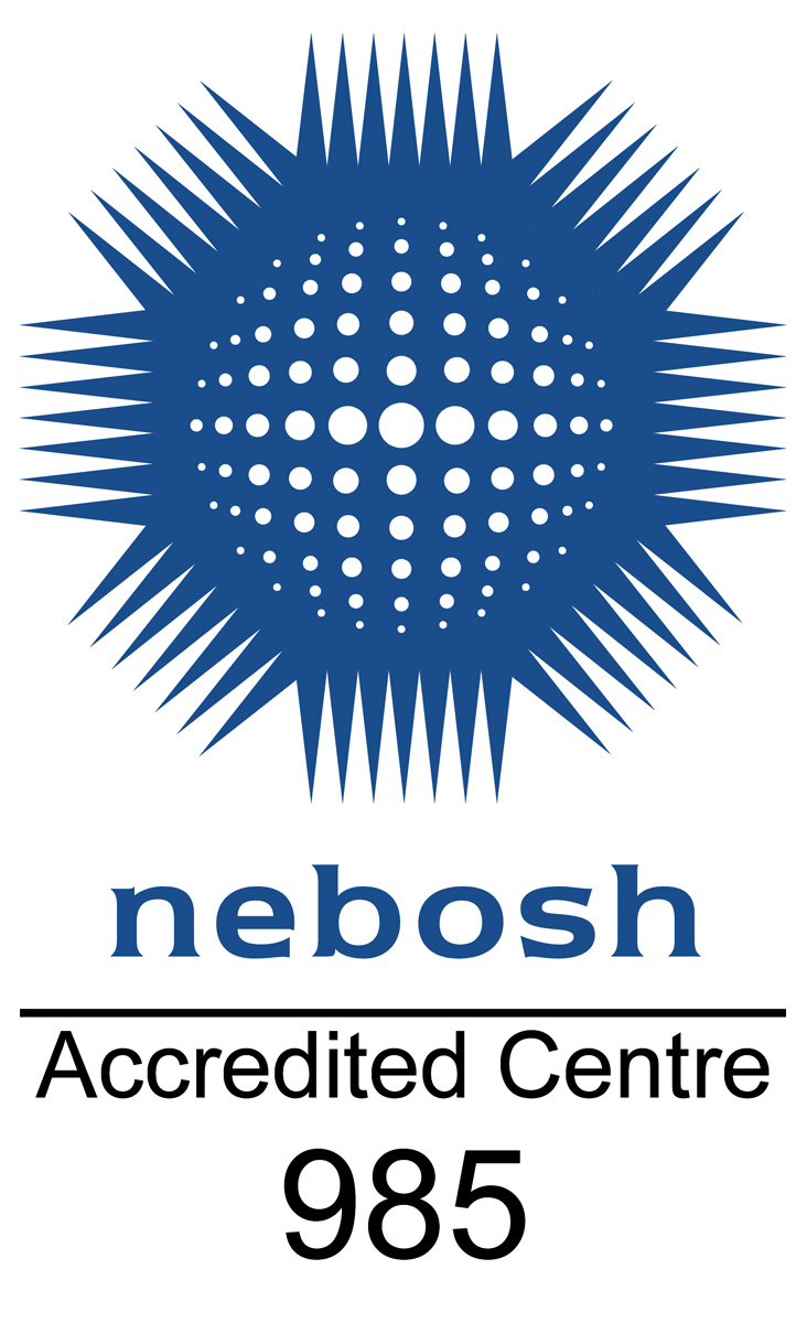 NEBOSH logo - KB Associates (Europe) Training Centre number