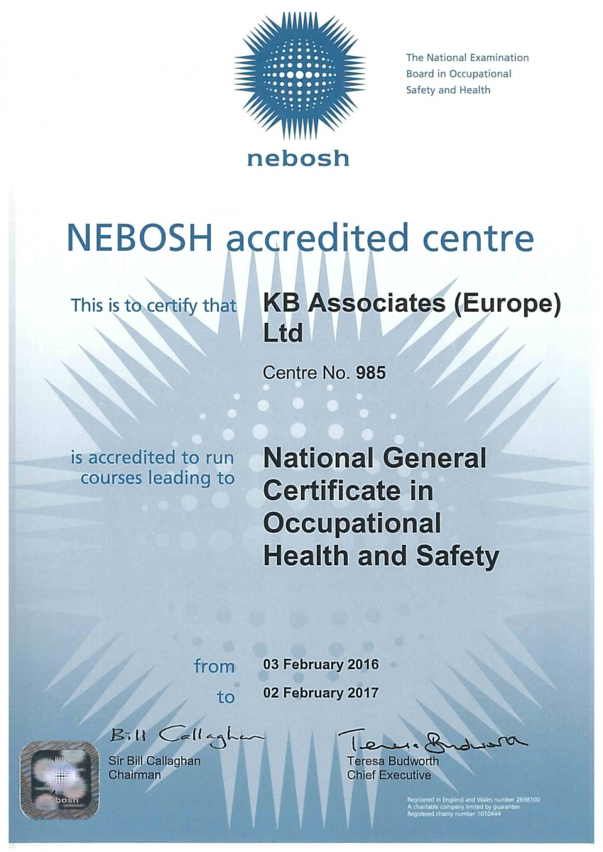 Distance Learning Nebosh Distance Learning