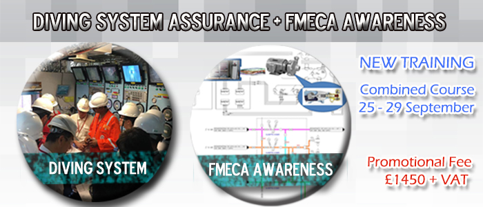 Diving System Assurance and FMECA Awareness, Bundle Your Training